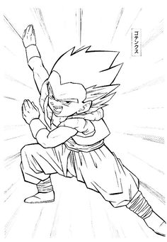 Dragon Ball Z Imagenes Para Colorear