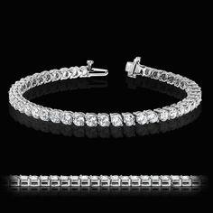 2 Prong Tennis Bracelet | http://miaco.us/2prongtennis