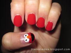 SheNailedMe: Tickle Me Elmo