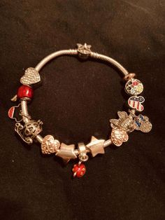 Silver Bracelet With Diamonds Key: 1156660075 Rose Gold Charms, Silver Charms, Silver Earrings, Silver Ring, Pandora Mickey Mouse, Silver Jewelry Cleaner, Jewelry Accessories, Women Jewelry, Bracelets