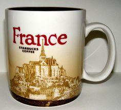 I want this mug!     Starbucks Mug: France (2010) by Pinay New Yorker, via Flickr