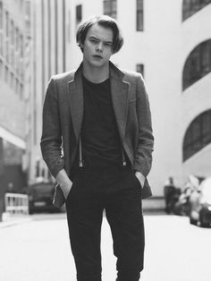 Celebrity photoshoot with actor Charlie Heaton from Stranger Things.  Photography by Jay McLaughlin