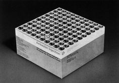 Helmut Schmid 1960s Cool Packaging, Vintage Packaging, Packaging Design, Modern Graphic Design, 3d Printing, Typography, Schmidt, Masters, Grid