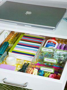 Organización Ideal para nuestra oficina, seguí nuestros consejos de organización & hogar www.en10salgo.com