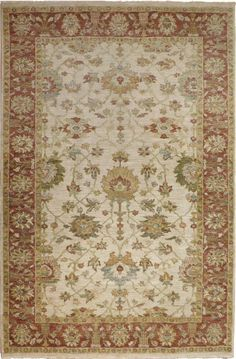 """Indian Hand Knotted Rug - 6'0""""x 9'1"""" on Chairish.com"""
