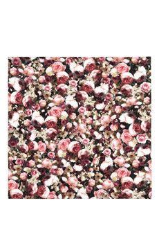 Givenchy Square scarf 70cm x 70cm Roses | NET-A-PORTER