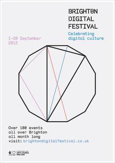 Cheryl Gallaway  Brighton Digital Festival Poster