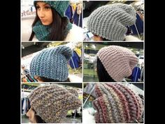 Супер - шапка бини спицами | вязаные шапки и прочее | Постила