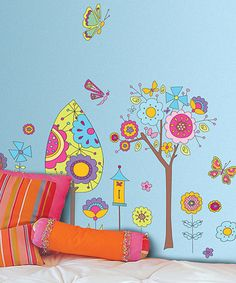 Fantasy Garden Wall Decal Set by Art Applique