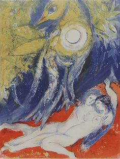 Then said the King in himself…, 1948, Marc Chagall