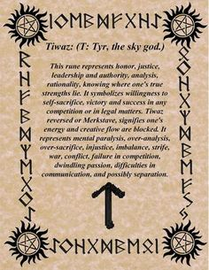Keeping the Order of the Runes as we know it so far for divination, you will find out, what's your Birthday's Rune is and what does it really mean! Ancient Runes, Norse Runes, Norse Pagan, Viking Runes, Norse Mythology, Celtic Runes, Runas Futhark, Elder Futhark Runes, Wiccan