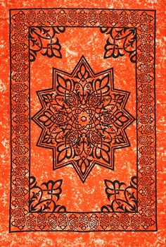 Sunshine Joy® Celtic Star Tie-Dye Tapestry - 60x90 Inches - Dorm Decor - Beach Sheet - Hanging Wall Art *** Click image to review more details. (This is an affiliate link) #Tapestries