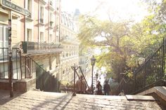 The dreamy view from a tiny cafe in Montmartre where I happily daydreamed for an hour