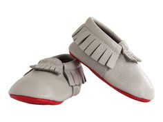 Leather Baby Mocassi