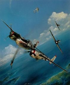 P-38  Pacific Summer by John Shaw