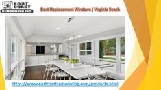 Looking for a siding installation service. We provide siding and replacement windows in Virginia Beach at affordable prices. Best Replacement Windows, Window Company, House Siding, Vinyl Siding, Virginia Beach, Windows And Doors, Save Energy, East Coast, Home