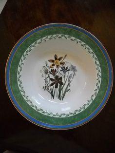 Smithsonian Institution Botanic Jane Webb London Soup Bowl Internation China   eBay