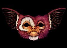 Gremlins by Patrick Seymour, via Behance Patrick Seymour, Art And Illustration, Art Illustrations, Vector Graphics, Vector Art, Monster Characters, Geek Art, Line Art, Street Art