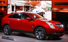 Cadillac SRX SUV Red Color