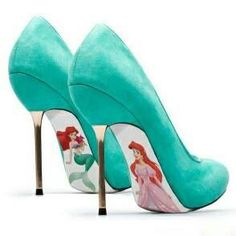The Little Mermaid.... Oh... My.... God... I must have these!!!!!!