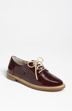 Saw these on clearance at Nordstrom Rack, didn't buy them, can't stop thinking about oxblood oxfords :(