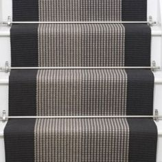 Carpet Runners Home Depot Canada Referral: 6633624620 Hall Carpet, Diy Carpet, Modern Carpet, Stair Carpet, Beige Carpet, Room Carpet, Striped Carpet Stairs, Striped Carpets, Mad About The House