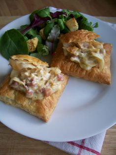 Bacon and Cabbage Fuilletées (Puff Pastries)