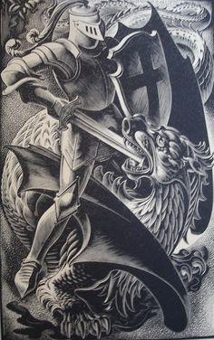 spense 1   john austen illustrator spenser's faerie queen   Claudia Mari2   Flickr