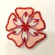 Season handmade hair clip from Ideas N Creations! #handmade #hairclip #christmas#ChineseNewYear#gift