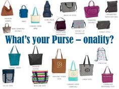 WHATS YOUR PURSE-ONALITY