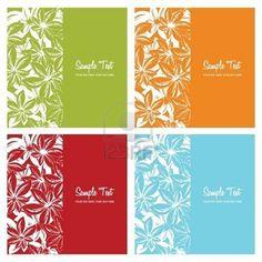 花のカードの背景、イラスト ストックフォト