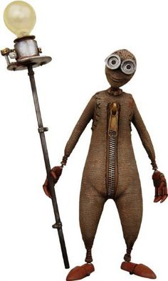 NECA 9 (Nine) Movie Action Figure Would love this, but so expensive. Wouldn't mind one inspired by it if I could find one. 9 Tim Burton, Estilo Tim Burton, Nine Movie, Tim Burton Characters, Fantasy Characters, Heroes Wiki, Designer Toys, Stop Motion, Great Movies