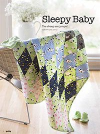 Sleepy Baby Digital Pattern from ShopFonsandPorter.com