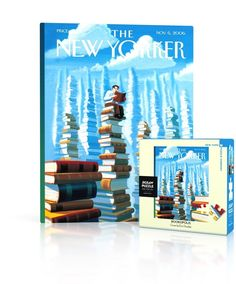"""New Yorker Cover by Artist Eric Drooker, originally published on November 6th, 2006100 Piece Jigsaw PuzzleFinished Puzzle Size: 7""""x9""""Linen Style Finish to reduce glareMade in USARecommended Age: 5+ Years"""