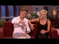 Kellie Pickler and Derek Hough's Secret Handshake