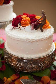 fantastic zombie wedding cake!!