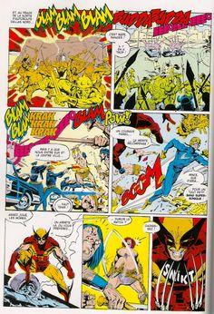 Xmen 226 the fall of the mutants - onomatopé