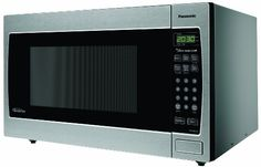 microwave oven with Inverter technology for true, variable microwave power. view larger Panasonic Inverter Microwave Oven The Genius Prestige Countertop/Built-In Microwave Oven. Best Appliances, Specialty Appliances, Small Appliances, Kitchen Appliances, Built In Microwave Oven, Countertop Microwave Oven, Panasonic Microwave, Stainless Steel Oven, Thing 1