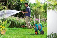 Garden Hose Reel Cart Heavy Duty Outdoor Yard 65 Foot Water Planting Tools New #Unbranded