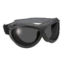 The Beast Black Goggles With Anti Fog Polycarbonate Smoke Lens With UV 400 Protection