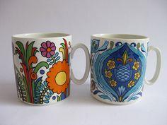 Villeroy & Boch / Acapulco / Izmir Fondest childhood memories. Mum had the full set :-)