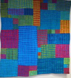 Art Quilt by Fiona Clancy - Grid 4