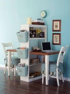 Diy Home decor ideas on a budget. : 6 Considerations When Decorating a Small SpaceOffice space by Christiane Bartz