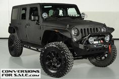 2014 Lifted Jeep Wrangler Unlimited Kevlar Coated