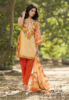 57b08c9866 Cute Summer Lawn Dresses for Women 2017 by Shariq http://www.fashioncluba