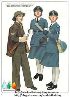 二战女军人军服图册 - 游骑兵少校 - 75游骑兵团