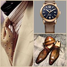 Suit Shoes, Jean Marie, Brown Suits, Mens Attire, Cool Suits, Men's Suits, Grown Man, Well Dressed Men, Suit And Tie