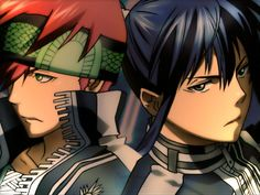 D. Gray-man ~~~ Lavi and Kanda :: Frenemies to the end.