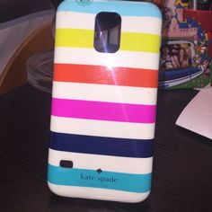 Samsung galaxy s 5 KATE SPADE case Barely used! Super cute and durable  kate spade Accessories Phone Cases