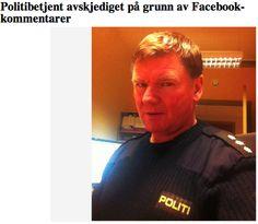 Om politimann som vart avskjediga pga ytringar på Facebook Robin, Om, Polo Shirt, Polo Ralph Lauren, Facebook, Mens Tops, Cold, Polo, European Robin